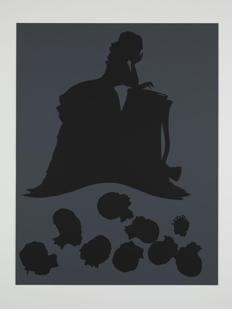 Kara Walker, The Emancipation Approximation, 1999-2000, screen print on paper