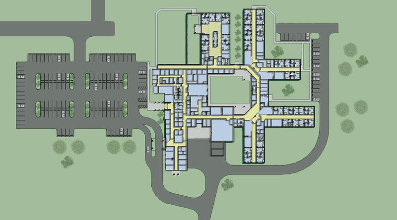 SBH uses the same design to build all its hospitals.