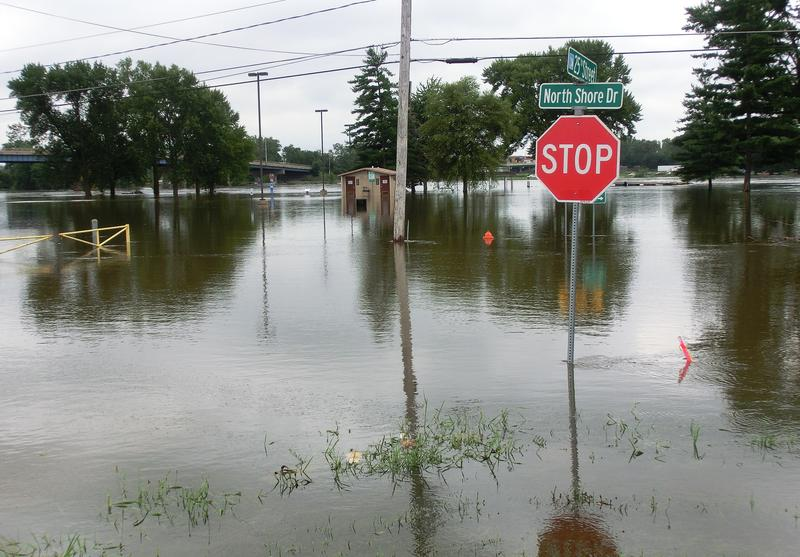 North Shore Drive in Moline at 25th Street.