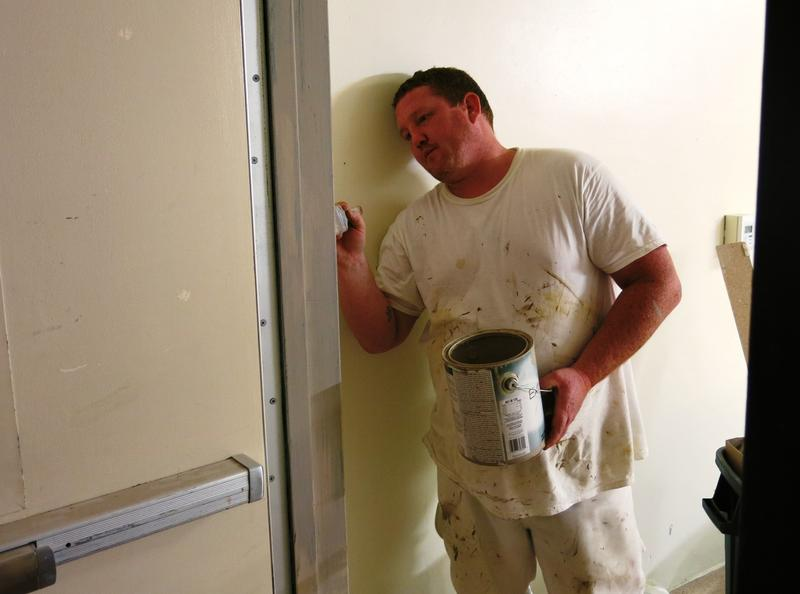 Finishing the trim - John Potter from Builders Sales & Services