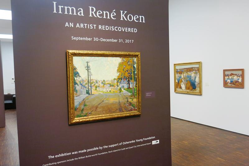 the new exhibit at the Figge Art Museum