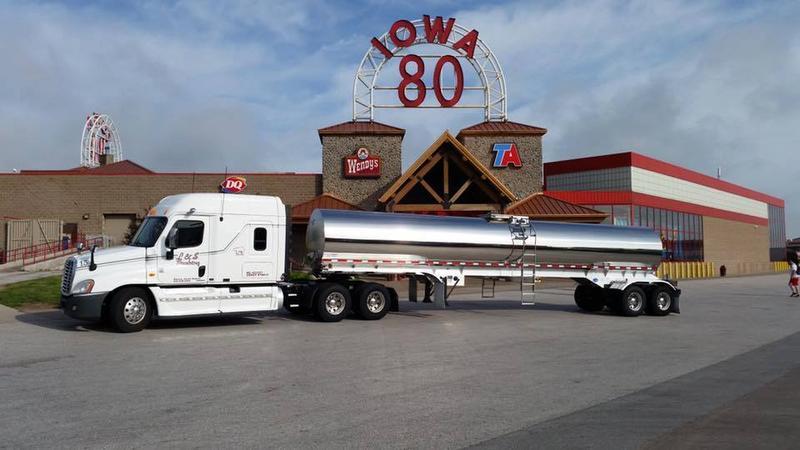 along I-80, at Walcott in eastern Iowa