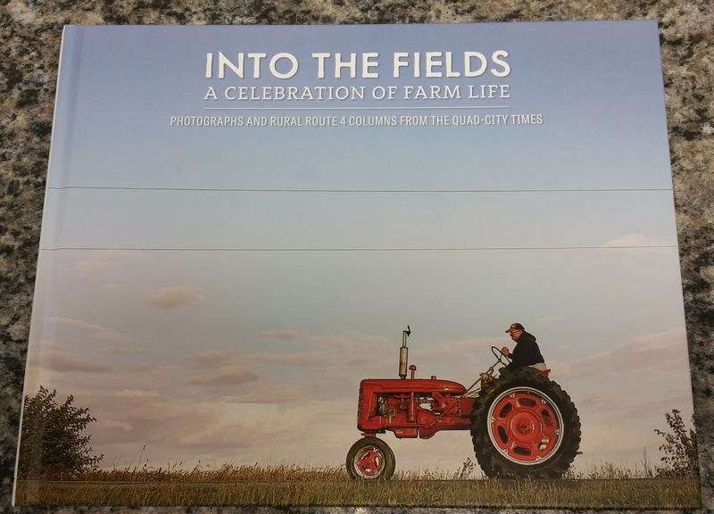 "The cover of Ewoldt's new book ""Into the Fields,"" published by the Quad City Times"