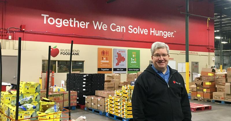 Mike Miller, CEO of River Bend Foodbank
