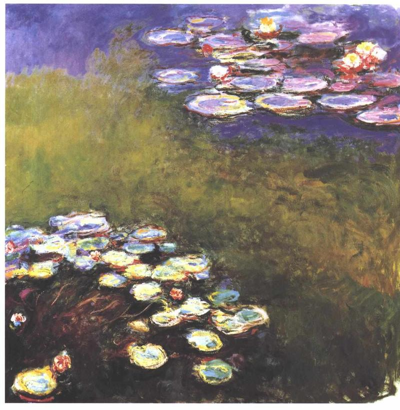 """Water Lillies"" by Claude Monet"
