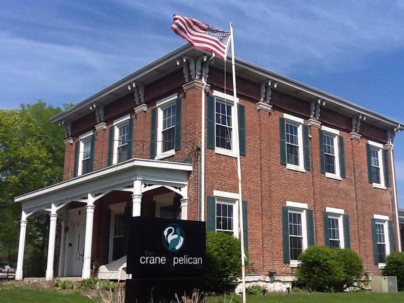 the Crane & Pelican in LeClaire - representing Scott County in the new Iowa Tourism campaign.