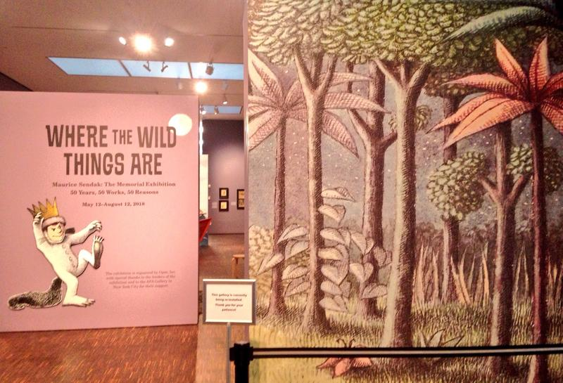 """""""Where the Wild Things Are"""" exhibit at the Figge Art Museum in Davenport"""