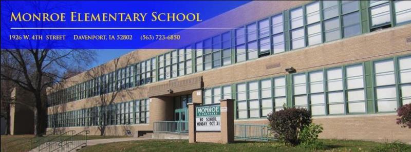 Monroe Elementary School in Davenport