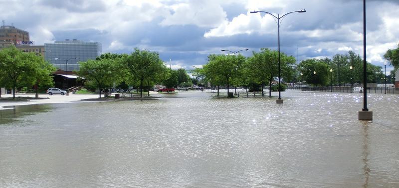 July 2014 - farmers market parking lot