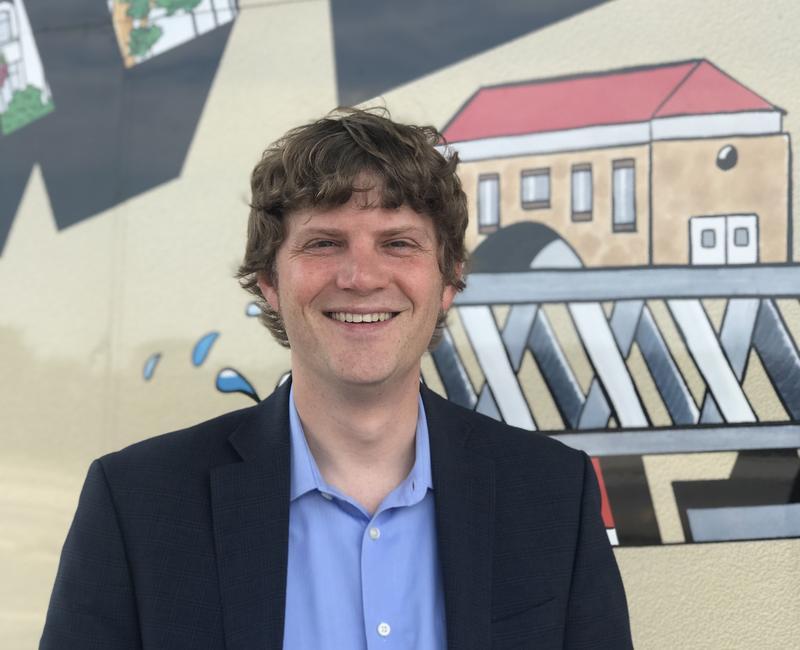 Kyle Carter, Executive Director of the Downtown Davenport Partnership