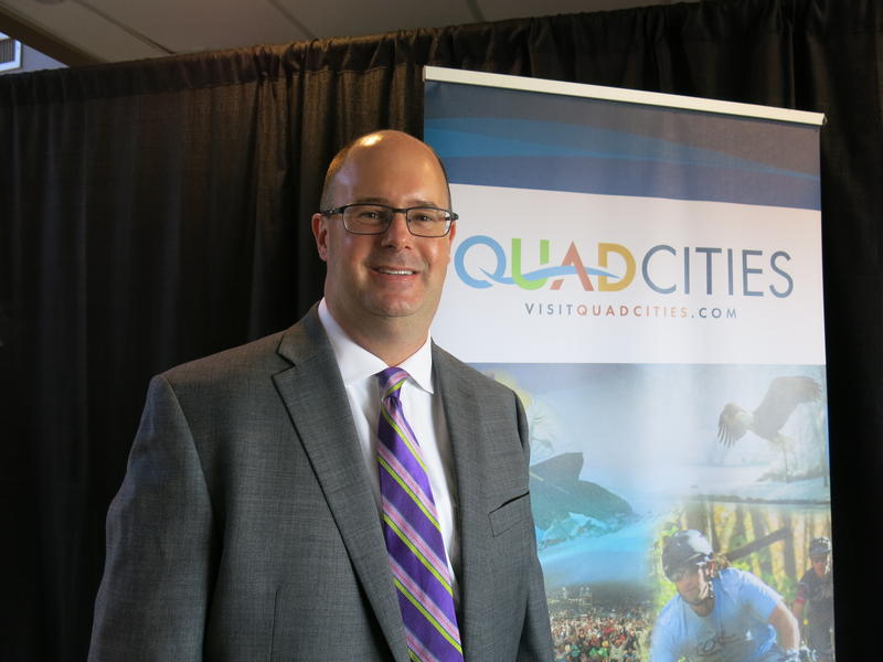 Dave Herrell, Pres. & CEO of the Quad Cities Convention & Visitors Bureau