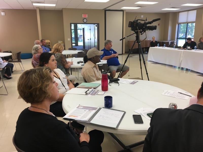 Photo of the first Census 2020 session in Rock Island County