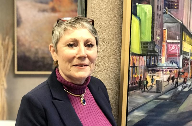 Pat Bereskin, director of the Beréskin Gallery & Art Academy in Bettendorf