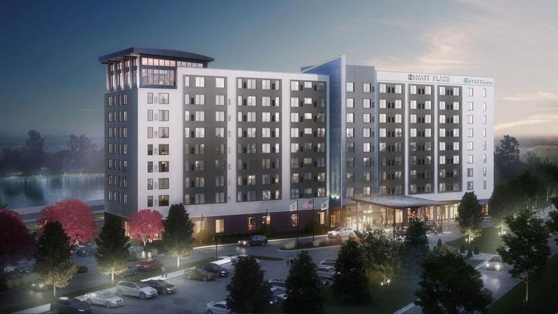 Marketing photo of the new East Moline Hyatt Place Hyatt House