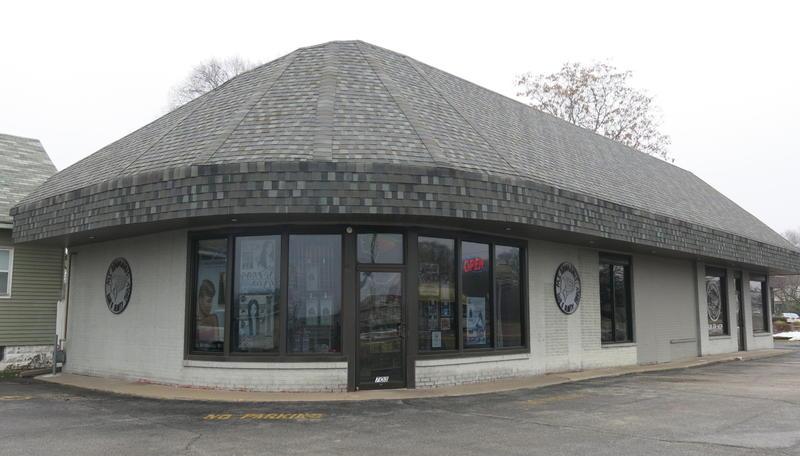 Ms. Brimani's current shop in Rock Island