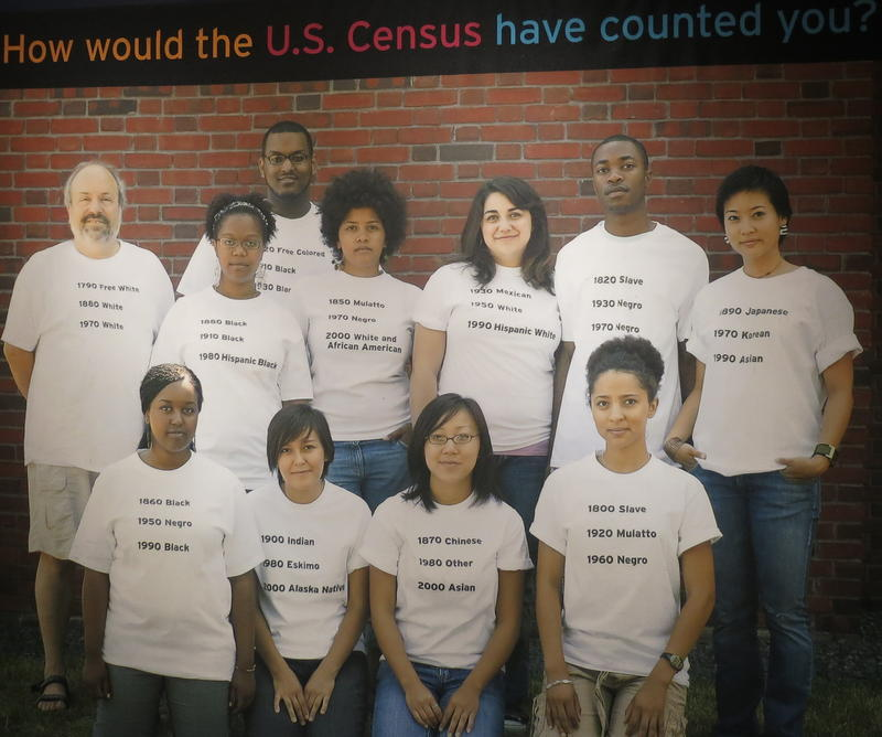 Over many years, the U.S. census has used different labels.