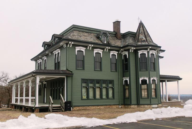the Deere home near downtown Moline.