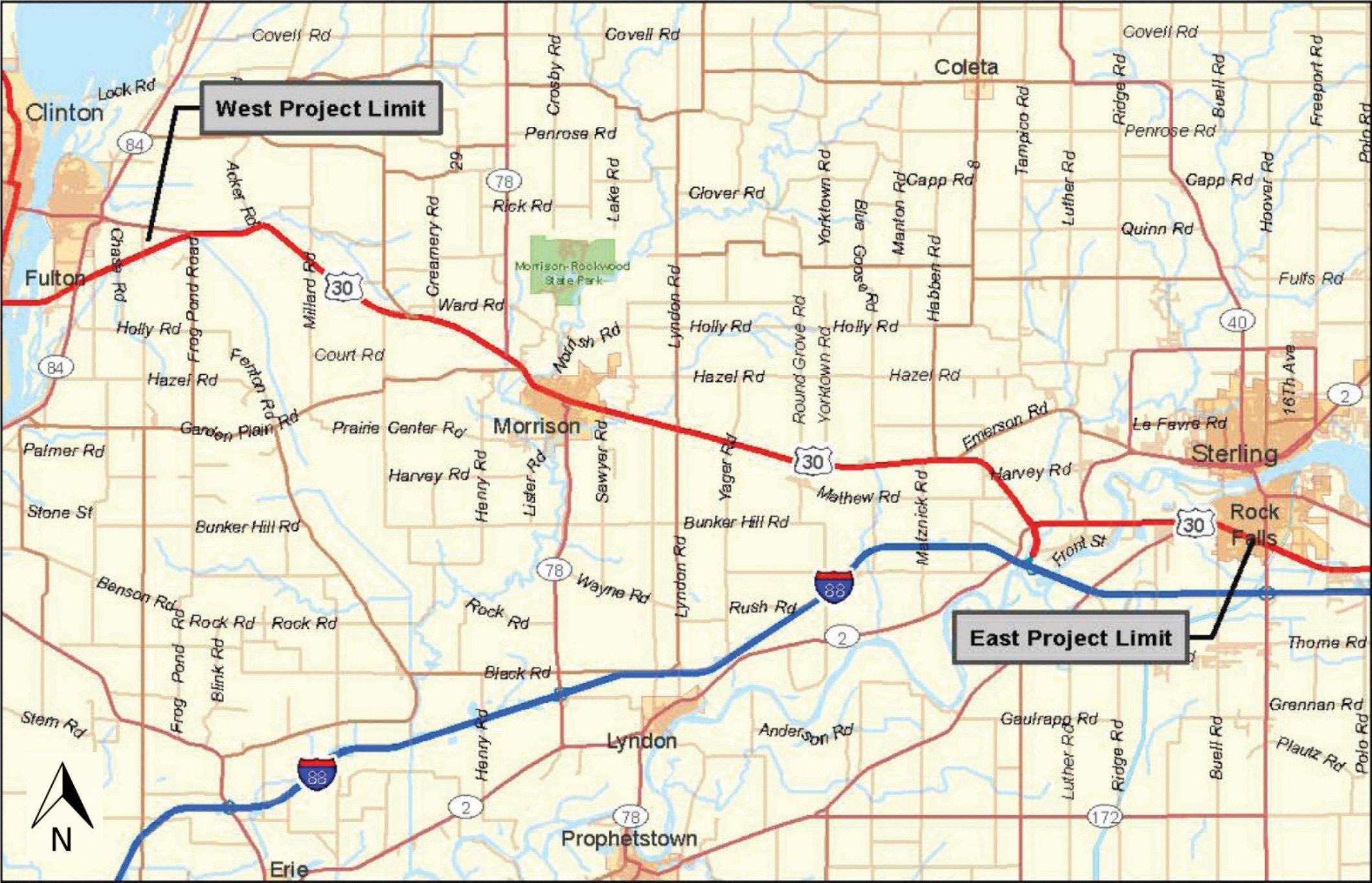 Widening Highway 30 in NW Illinois   WVIK