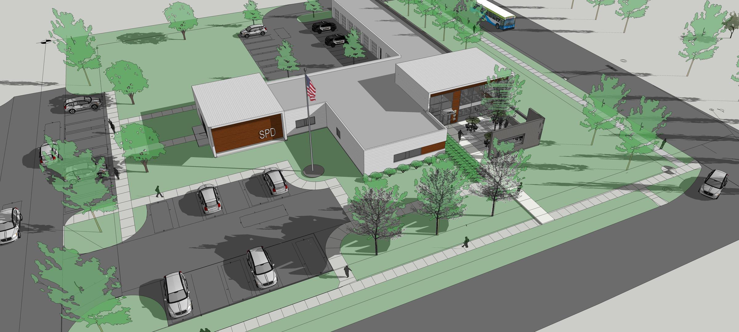 New Silvis Police Station Wvik