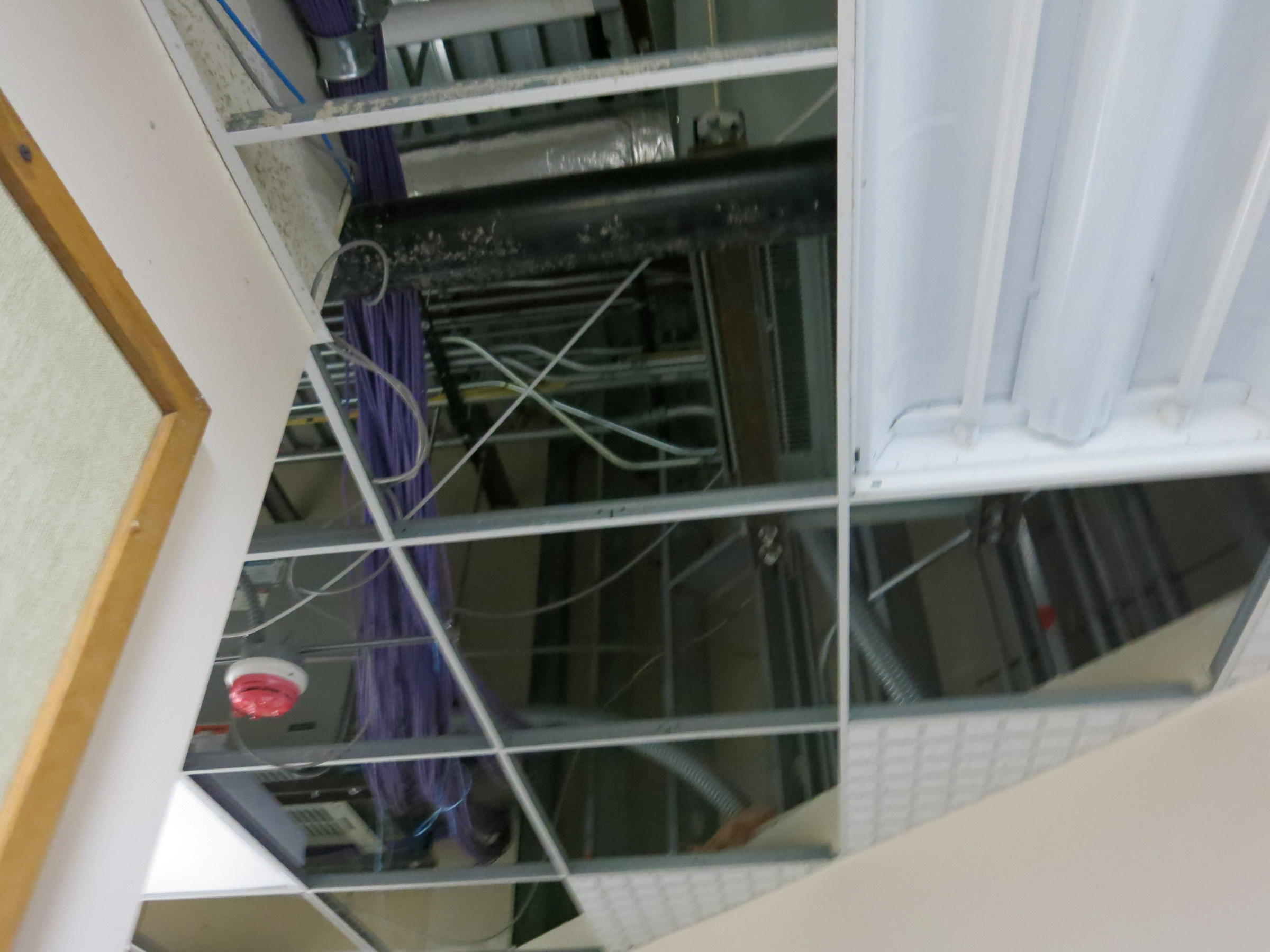 Bettendorf library reopens after water damage wvik ceiling tiles were removed doublecrazyfo Choice Image