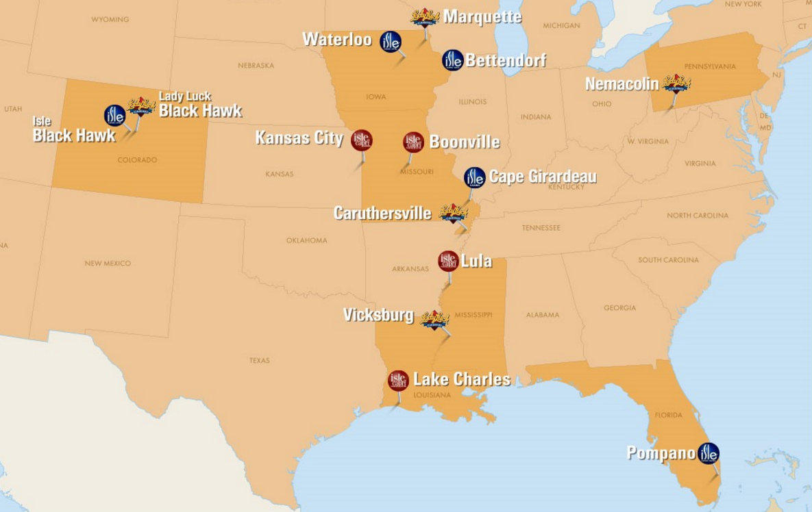 Casinos In Florida Map.Nevada Based Company To Buy Isle Of Capri Wvik