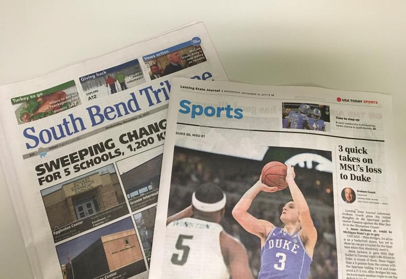 Today's South Bend Tribune