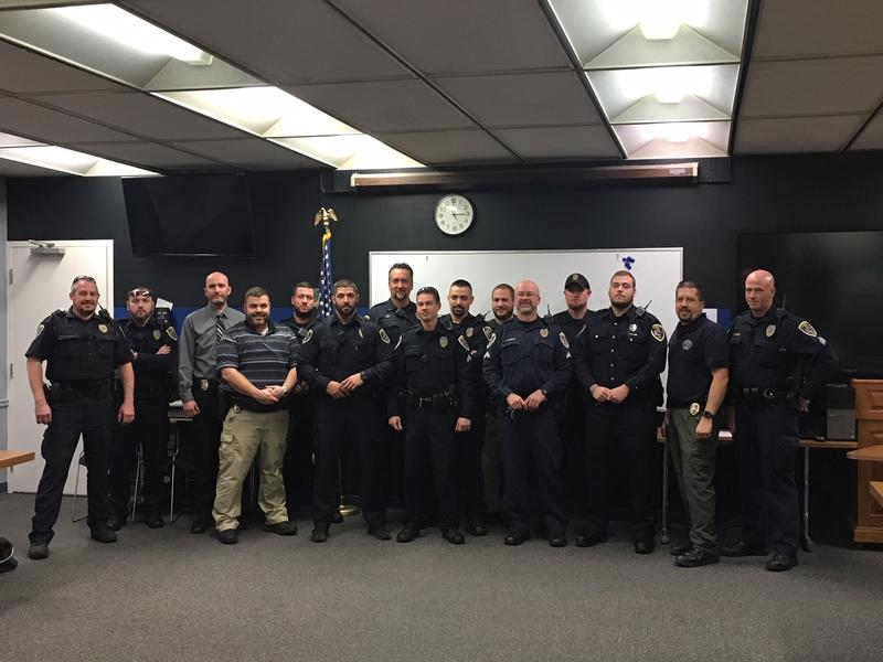 EPD officers with facial hair