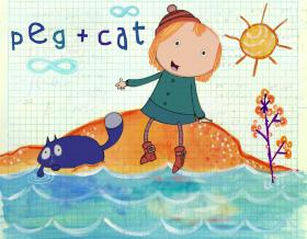 Get the Peg   Cat album today!