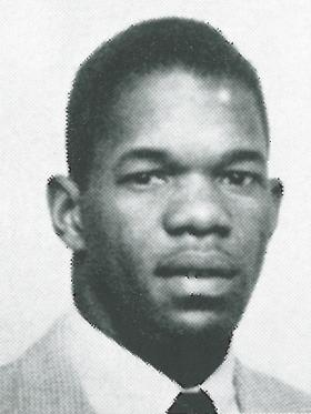 Billy Owens as pictured in the yearbook from 1954.