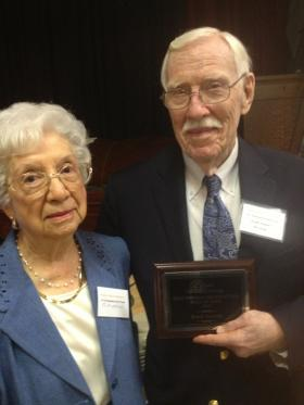 Frank Stowers and his wife of Emita.