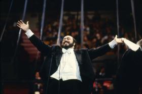 Pavarotti at Madison Square Garden