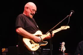 Dave Mason performs on the 800th episode of Mountain Stage with Larry Groce