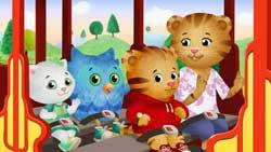 Trolley Ride is one of the games on the Daniel Tiger's Neighborhood website.
