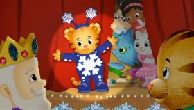 Daniel has a special role in the Snowflake Day Show. Watch this new episode on Monday, Nov. 25 at 11 a.m. on WV PBS