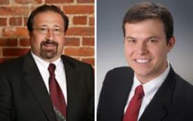 West Virginia's Party Chairmen, Democrat Larry Puccio and Republican Conrad Lucas