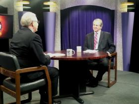 Pat McGinley, on the right, spoke to Dan Ringer on The Law Works, with Paul Ziemkiewicz and Dr. Alan Ducatman.