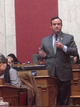 Delegate Kevin Craig urges passage of H.B. 4182, a supplemental appropriations bill.