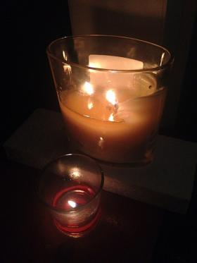Candles lit in Alabama for West Virginian residents.