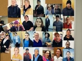 People who have found jobs through the Jobs First Program.
