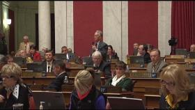 Delegate John Shott speaks in opposition of H.B. 4001, the Government Fraud Prevention Act.