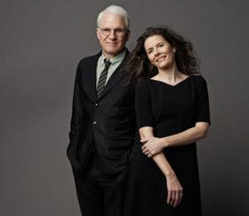 Steve Martin appears with vocalist Edie Brickell on Great Performances.