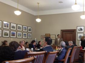The House Judiciary Committee approved S.J.R. 14, proposing constitutional amendment designated Future Fund Amendment and S.B. 204, relating to crime victims compensation awards.