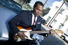 Robert Cray, appearing live on Mountain Stage, Sunday March 23rd.