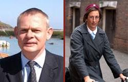 Martin Clunes and Miranda Hart