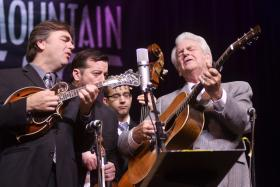 The Del McCoury Band, live on Mountain Stage