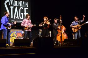 The SteelDrivers live on Mountain Stage