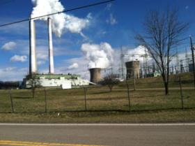 The Harrison Power Station in Haywood, W.Va.