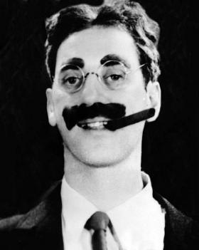 Groucho was never interested in serious conversation, was he?
