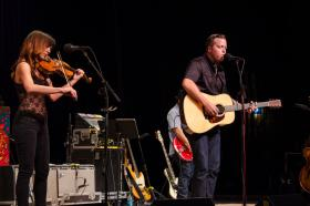 Jason Isbell and Amanda Shires on Mountain Stage