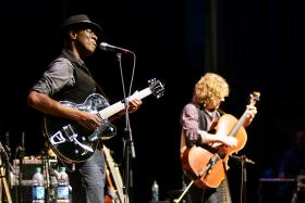 Keb' Mo' live on Mountain Stage